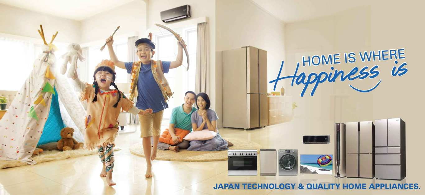 Aqua Japan Home Is Where Happiness Samsung Wa14j6750spse Bebas Top Loading Washing Machine 14 Kg